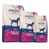 Healthy Paws Rabbit, Duck & Brown Rice Adult Dry Dog Food