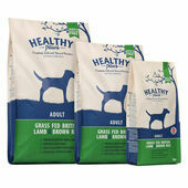 Healthy Paws Grass Fed British Lamb & Brown Rice Dry Adult Dog Food
