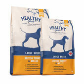 Healthy Paws British Turkey & Millet Large Breed Adult Dry Dog Food