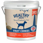 Healthy Paws Fruit Cookie Treats 500g Bucket