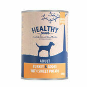 Healthy Paws Turkey & Goose Wet Dog Food 400g