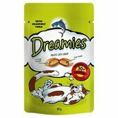 Dreamies Cat Treats With Tuna 60g
