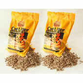 2 x 30L Nature's Own Premium Wood Pellet Dust Free Cat Litter