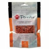 Perrito Chicken Chunkies Cat Snacks 100g
