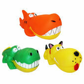 HappyPet Big Head Rubber Dog Toy