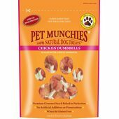 Pet Munchies Natural Dog Treat Chicken Dumbbells