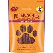Pet Munchies Natural Dog Treat Strips - Duck