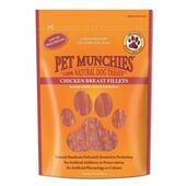 Pet Munchies Natural Chicken Breast Fillets Dog Treats