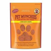 Pet Munchies Natural Dog Treat Chicken Chips