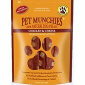 Pet Munchies Natural Chicken & Cheese Dog Treats