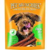 Pet Munchies Natural Dog Treat Duck Stix