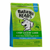 Barking Heads Small Breed Chop Lickin' Lamb Dry Dog Food
