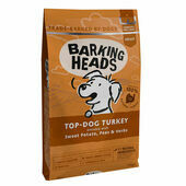 Barking Heads Top Dog Turkey Dry Dog Food