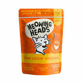 Meowing Heads Paw Lickin\' Chicken Wet Cat Food