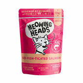 Meowing Heads So-fish-ticated Salmon Wet Cat Food