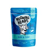 Meowing Heads SUPURRR SURF & TURF Wet Cat Food