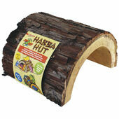 Zoo Med Wooden Habba Hut Natural Hide
