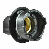 Ceramic Bulb Holder (Black) Rated to 250 Watts