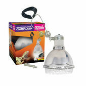 Arcadia Reflector Clamp Lamp With Ceramic E27 Lampholder