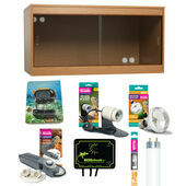 Monkfield Vivarium Kit, 122 x 61 x 61cm (48 x 24 x 24