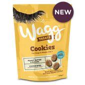 7 x Wagg Cookie Dog Treats Peanut & Banana 125g