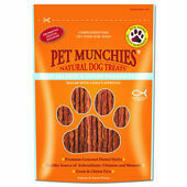 Pet Munchies Wild Salmon And Sweet Potato Dog Dental Stick