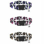 Cat Circus Cat Collar in Leopard Print