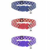 Cat Circus Cat Collar in Star Print