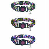 Cat Circus Cat Collar in Flower print