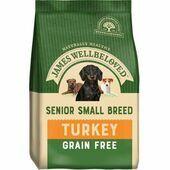 James Wellbeloved Adult Dog Senior Grain Free Small Breed - Turkey & Veg 1.5kg