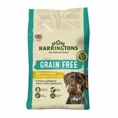 Harringtons Grain Free Dog Food with Turkey & Sweet Potato