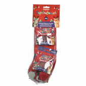 Cupid & Comet Cat Christmas Stocking
