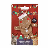 Crinkle Catnip Gingerbread Man Cat Toy