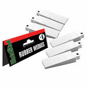 HabiStat Rubber Wedges For Glass Doors (Set of 6)