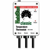 HabiStat Temperature On/Off Thermostat White 600w