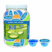 HabiStat H2O Balls Display Jar and 16 Tubs