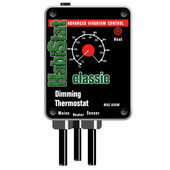 HabiStat Dimming Thermostat Black 600w