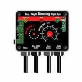 HabiStat Dimming Thermostat Day/Night Night Eye Black 600w