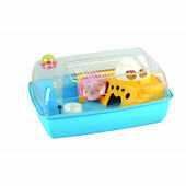 Sky Pet Products Hayden Dwarf Hamster and Mice Plastic Cage Blue