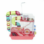 Henry Hamster Cage Pink