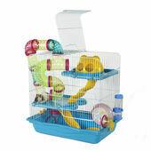 Henry Hamster Cage Blue
