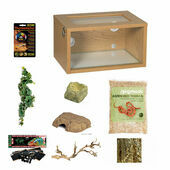 The Pet Express Corn/Milk/King Snake Starter Kit Oak (Tall)