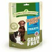 James Wellbeloved Grain Free Crackerjacks Fish and Vegetable Dog Treats