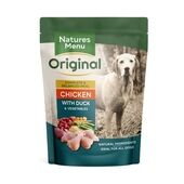 Natures Menu Chicken & Duck Adult Wet Dog Food