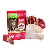 Natures Menu Beef & Chicken Cat Food Pouch