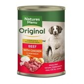Natures Menu Beef & Chicken Adult Wet Dog Food Can