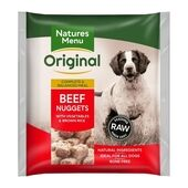 Natures Menu Beef Adult Original Raw Nuggets