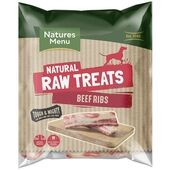 Natures Menu Beef Rib Natural Raw Dog Treats