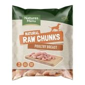 Natures Menu Raw Poultry Breast Meat Chunks