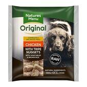 Natures Menu Chicken & Tripe Adult Original Raw Nuggets